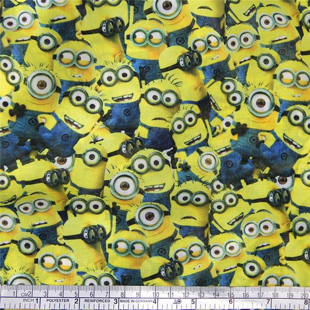 50*147CM Gauze minions gauze fabric