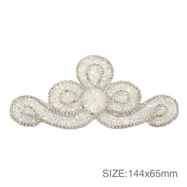 144*65mm 144*65mm back with glue drill rhinestone crystal