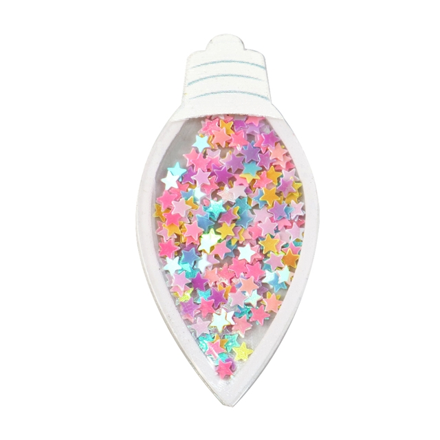 32*67mm 32*67mm quicksand sequins acrylic