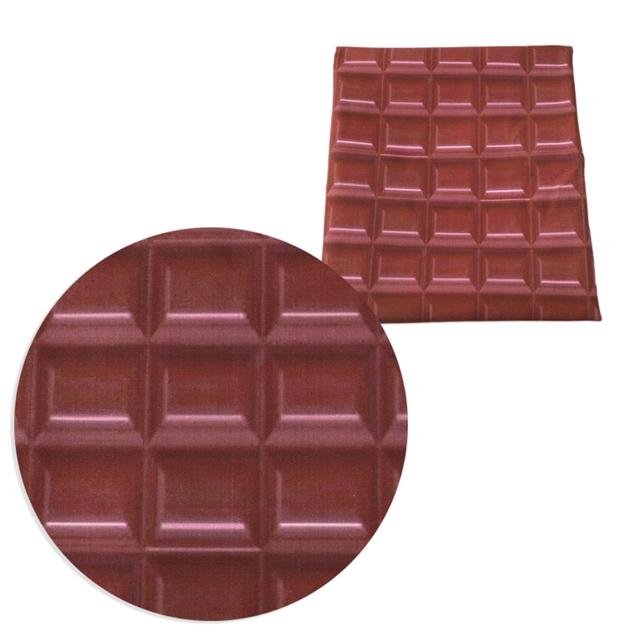 "20""*58"" 50*145CM heat transfer printed Polyester&cotton chocolate fabric"