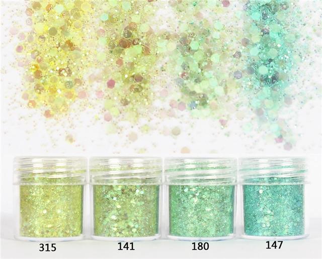 Gradient powder