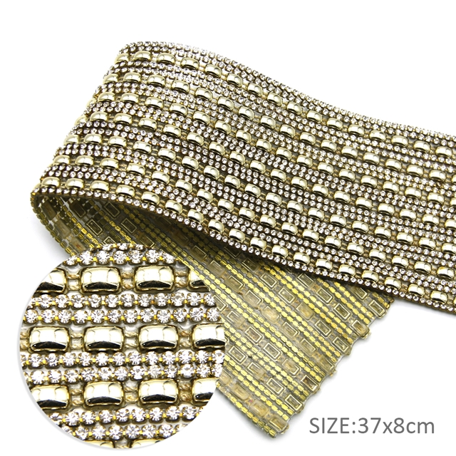 37*8cm 37*8cm back with glue drill rhinestone crystal