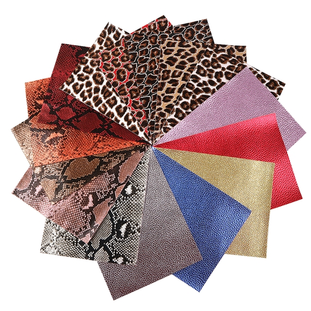 15*21cm 15*21cm synthetic leather A5 synthetic leather set(15piece/set)