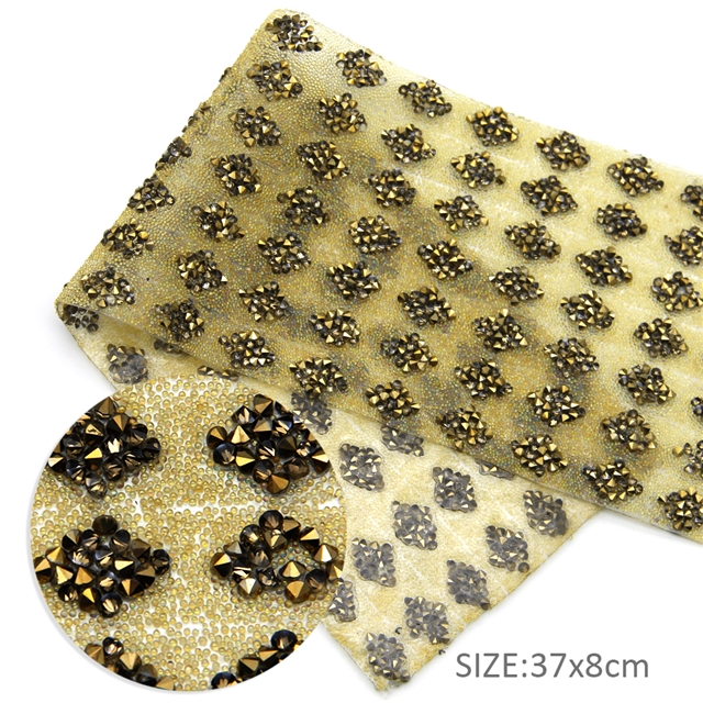 37*8cm 37*8cm back with glue drill rhinestone crystal