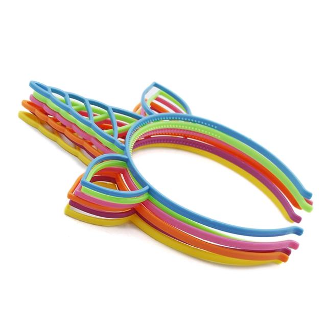 plastic Unicorn headband