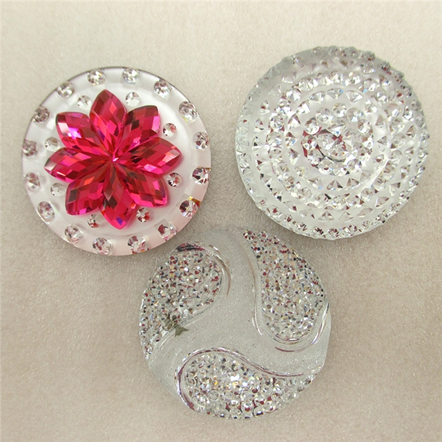 30*30mm flower basketball diamond