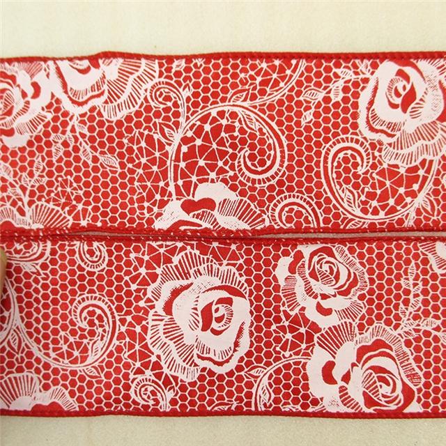 width:63mm flower ribbon