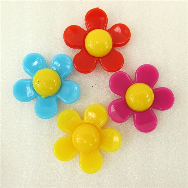 33*33*8mm 3d FLOWER RESIN