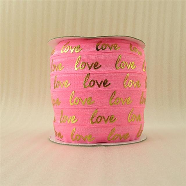"5/8"" GOLD elastic Love gold elastic"