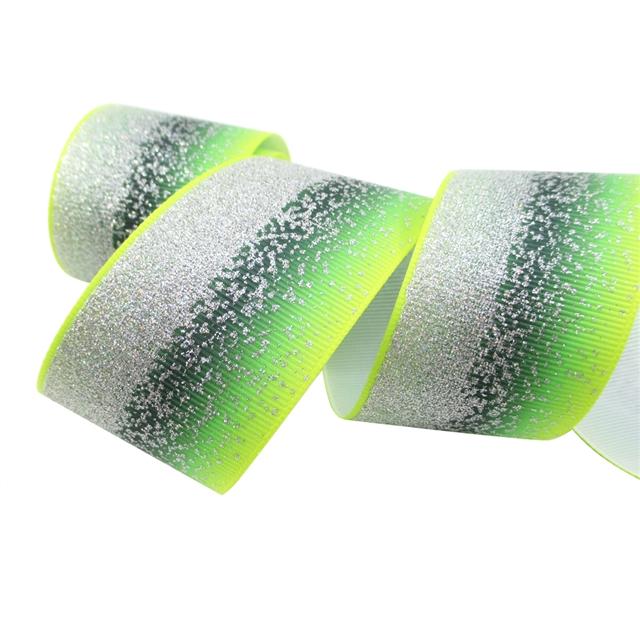 """1.5"""" 38mm glitter grosgrain glitter ribbon"""