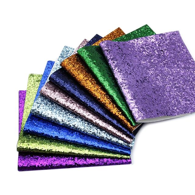 pvc glitter pvc