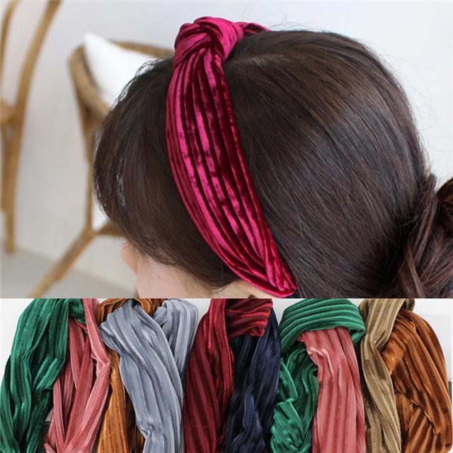 7cm width Plain color headband