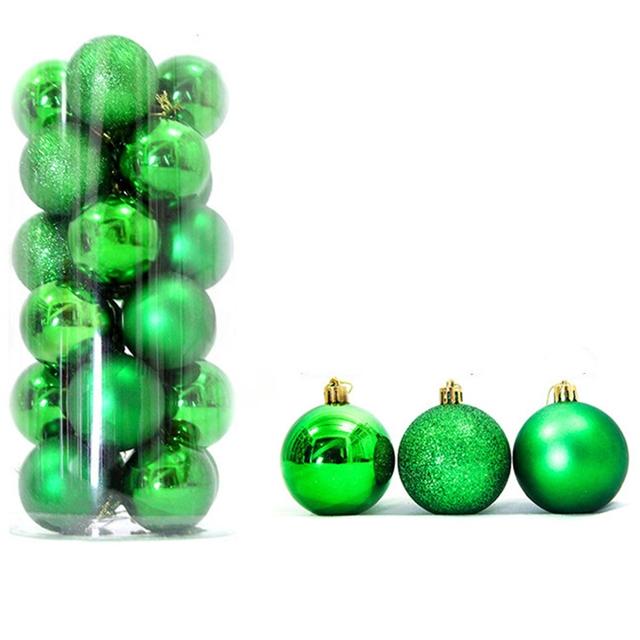 18*3cm  3cm Christmas decoration ball(24piece/PACK)