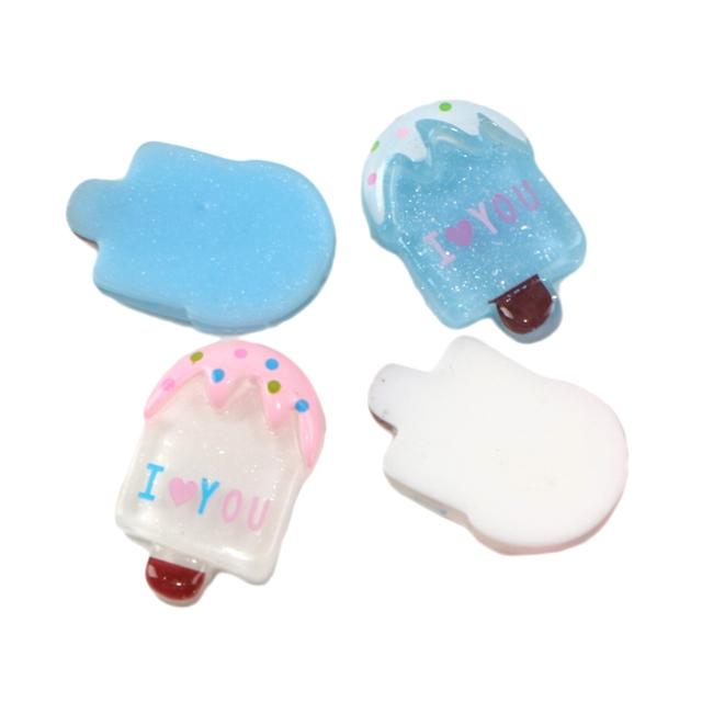 Ice cream resin accessories
