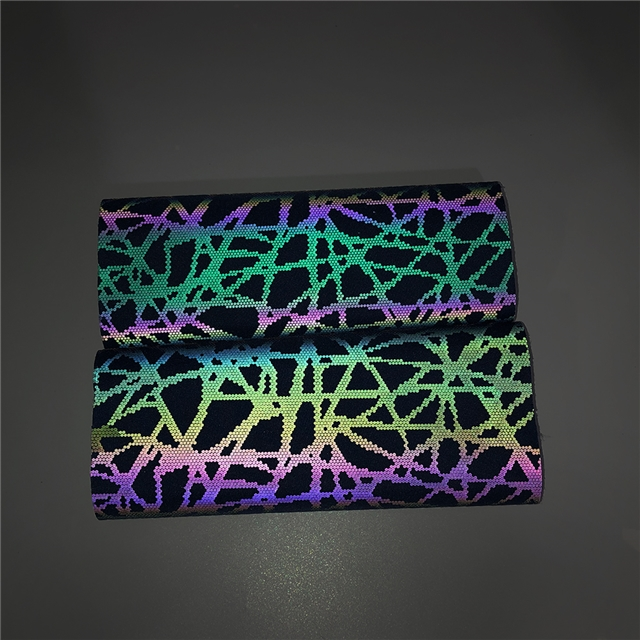 reflective printing synthetic leather