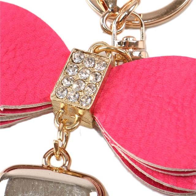 Bow tassel keychain