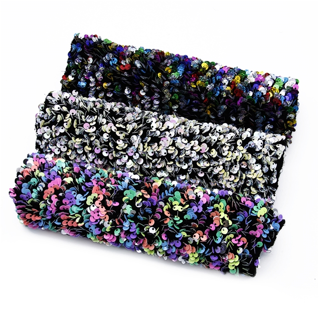 sequined fabric