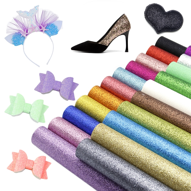 20*34cm 20*34cm glitter pvc superfine glitter pvc(21piece/set)