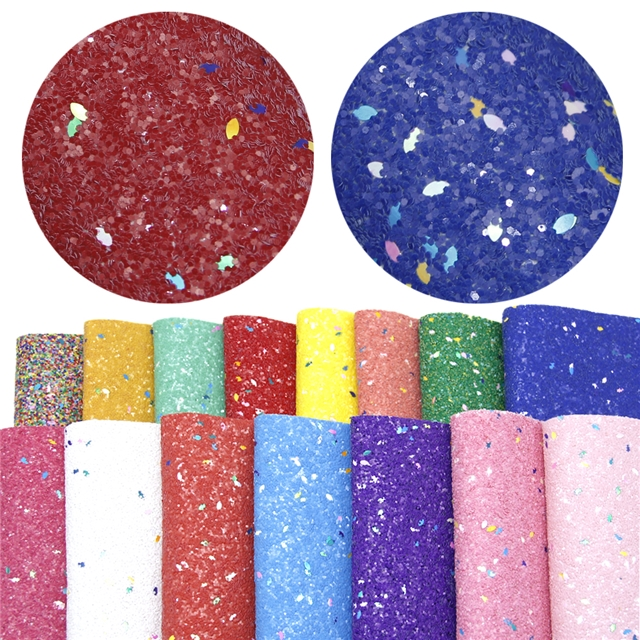 chunky glitter sequins  synthetic leather chunky glitter sequins synthetic leather