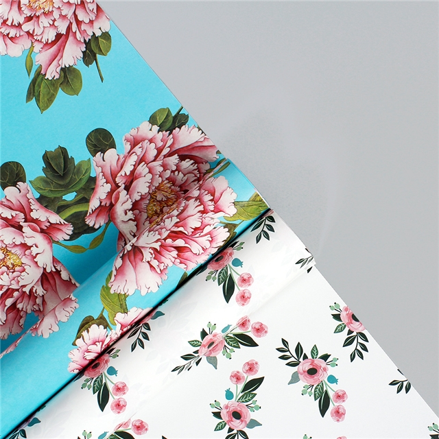 50*70cm Coated paper wrapping paper