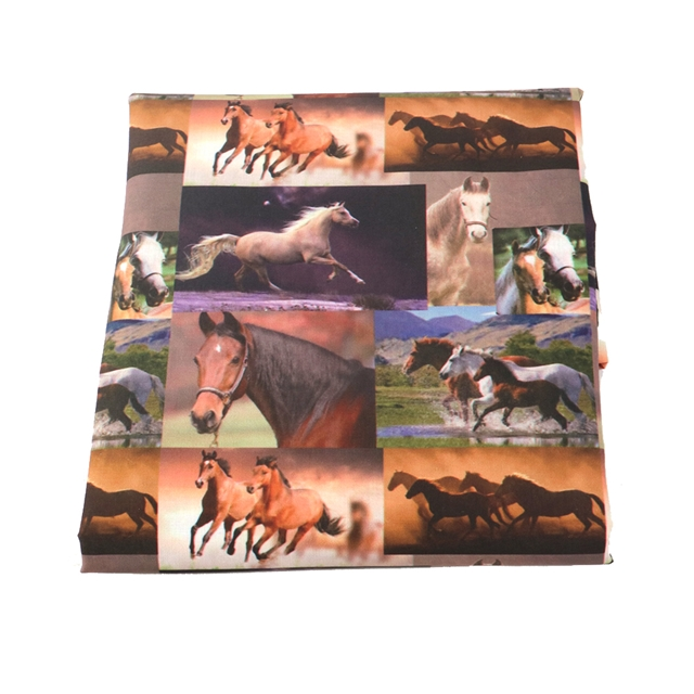 50*145cm heat transfer printed Polyester&cotton polyester cotton fabric