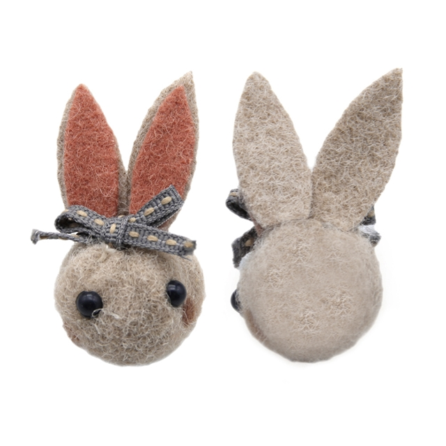 25*50mm 25*50mm Wool felt  Wool felt rabbit