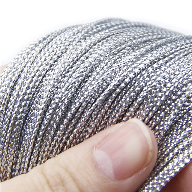 1mm 1mm 100 meters Eight strands of colored silk