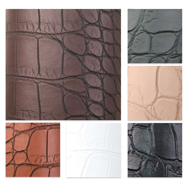 synthetic leather Crocodile pattern synthetic leather