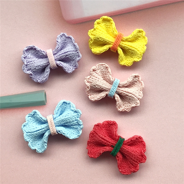resin bowknot resin accessories