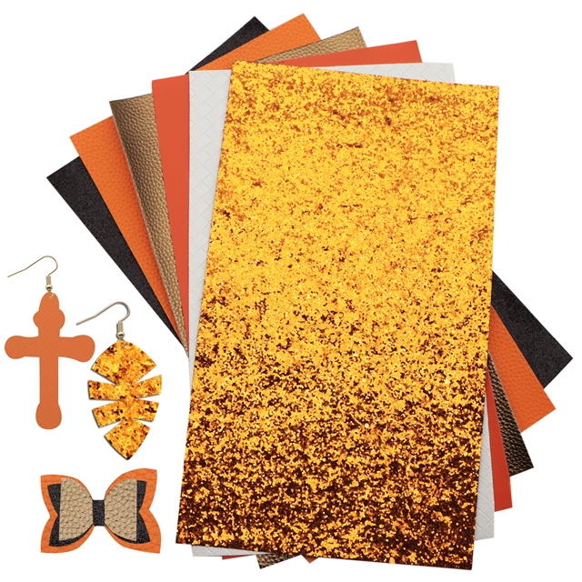 20*34cm synthetic leather set(24piece/set)+tool