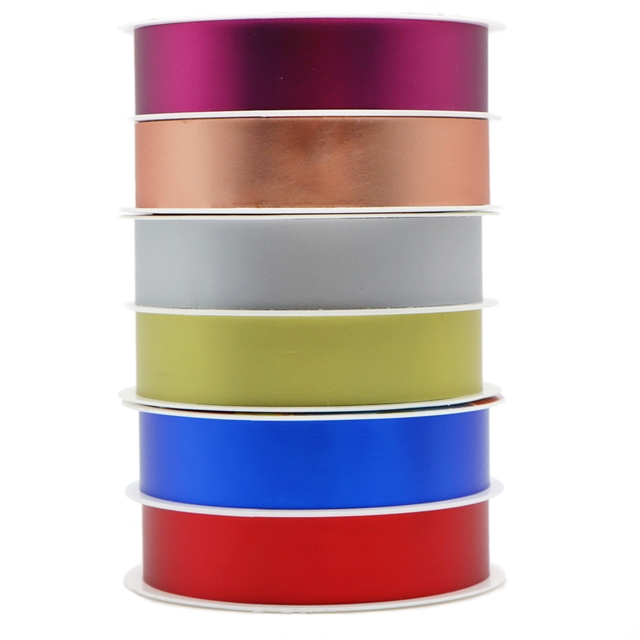 Christmas gift wrapping ribbon (6 rolls/set,5m/roll)