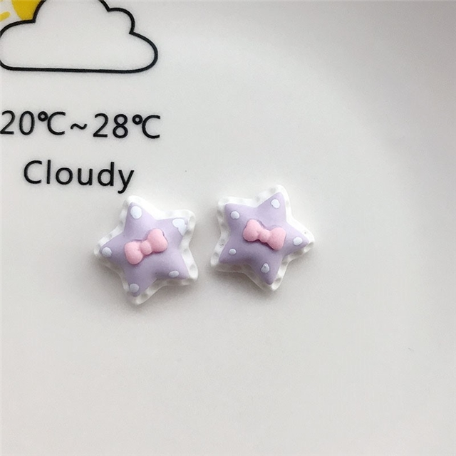 18*18mm resin star resin accessories