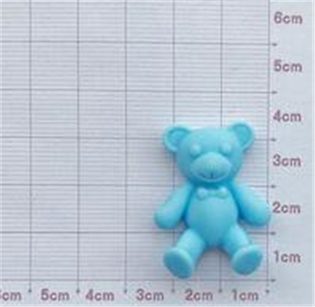 33*24mm resin bear resin accessories