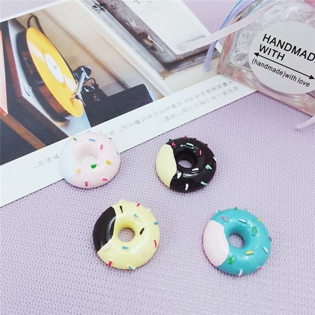 20*20mm resin donut resin accessories