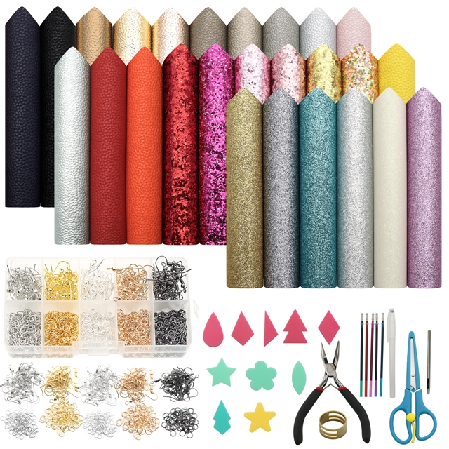 20*33cm synthetic leather set(26piece/set)+tool