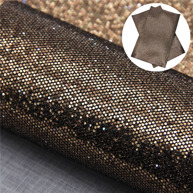 synthetic leather chunky glitter cellular network synthetic leather