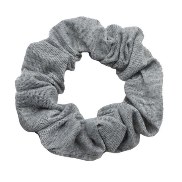 gray hair scrunchies