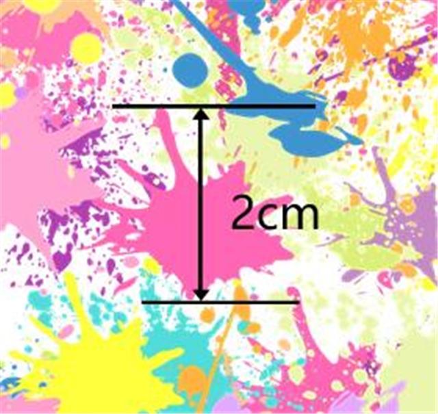 tie-dye graffiti fabric set(10 designs/set)