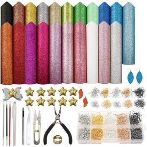 20*33cm synthetic leather set(21piece/set)+tool