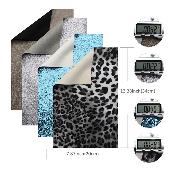 20*33cm synthetic leather set(28piece/set)+tool