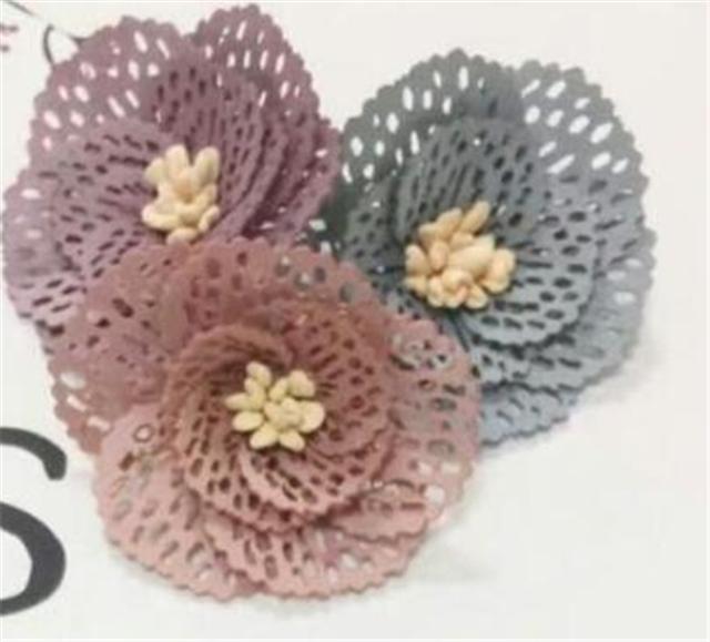 about:8*8cm handmade flower