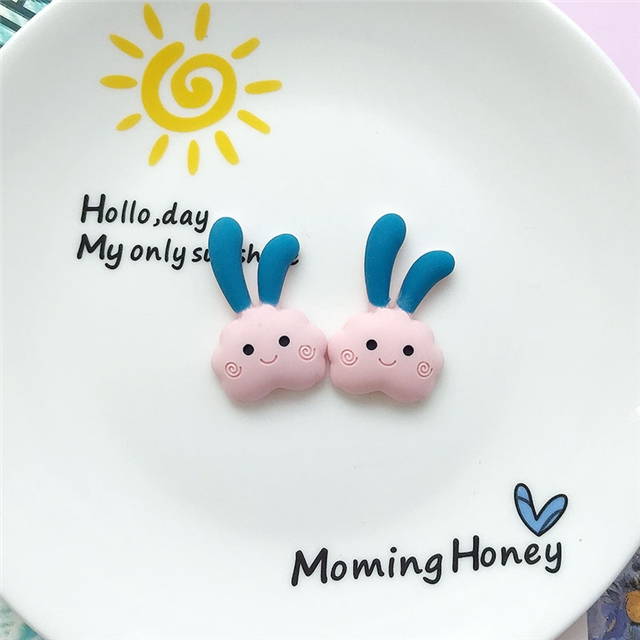 35*23mm resin clouds rabbit resin accessories
