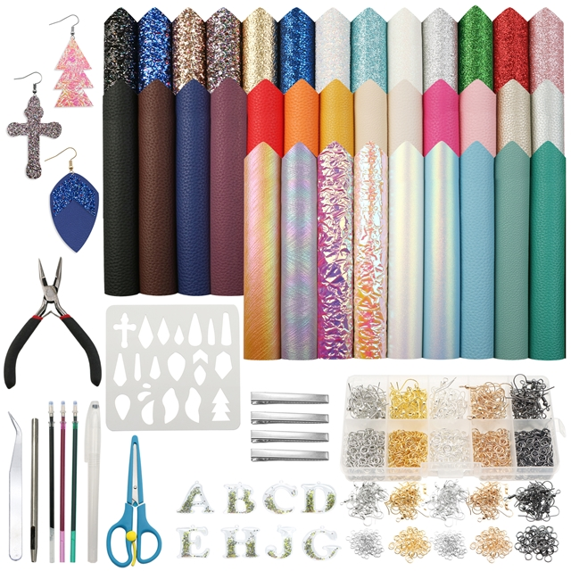 20*34cm synthetic leather set(35piece/set)+tool