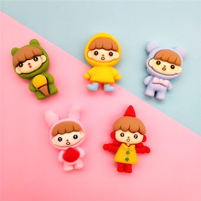 resin cartoons resin accessories