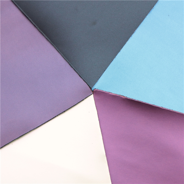 15*21cm 15*21cm synthetic leather A5 smooth iridescent synthetic leather set(5pieces/set)