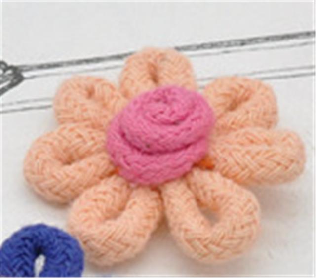 30*30mm flower hair accessories