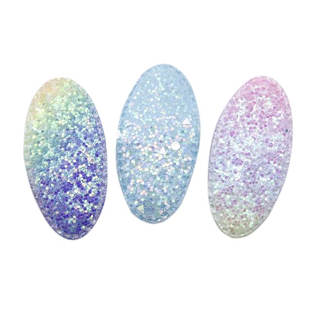 glitter barrette