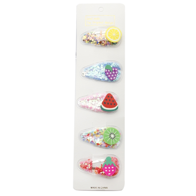 Transparent transparent bb clip(5pieces/card)