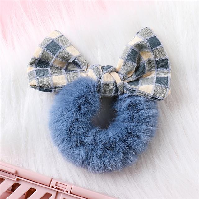 about9.5*11cm velvet velvet hair scrunchies