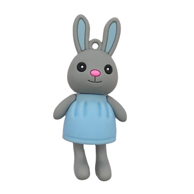 resin rabbit doll resin keychain